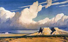 Desert Mesa, by Maynard Dixon