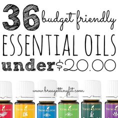 Looking to expand your oils collection? Try these 36 Budget Friendly Essential Oils Under $20!