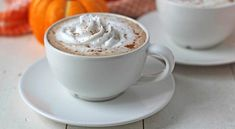 This recipe contains no coffee, making it kid-friendly. (Parents, if you want to make yourself a version with coffee, I've included a note in the recipe on how to adjust accordingly. Pumpkin Spiced Latte Recipe, Homemade Pumpkin Puree, Canned Pumpkin, Pumpkin Spice Latte, Homemade Ice, Mini Pumpkin Pies, Mini Pumpkins, Baking Soda Clay, Homemade Bookmarks