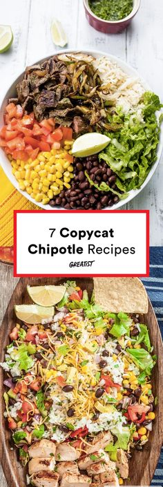 But we'll take two scoops of guac, please. #greatist https://greatist.com/eat/copycat-chipotle-recipes
