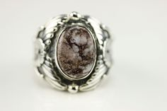 Native American Navajo Sterling Silver Wild Horse Turquoise Ring Size 10.5 by LoudCrowTrading on Etsy