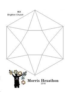 Barbara Brackman's MATERIAL CULTURE: Morris Hexathon 24: Brighton Church