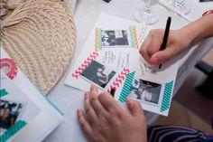 Instax Mini & Washi Tape Guestbook