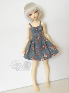 Beautifully made!   PREORDER MNF flower mini summer dress for MSD 1/4 by deisdollhouse, $30.00