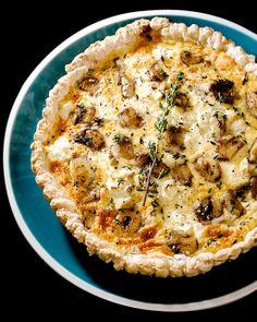 {my dream tart, 100%} Caramelised Garlic & Three Cheese Tart   alanabread