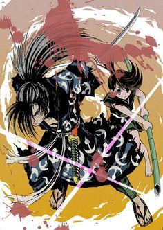 Hyakkimaru and Dororo     Dororo Fan Art