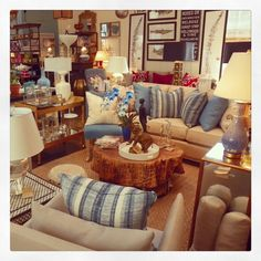 #Livingroom filled to the brim! #Sofas, #accessories, #tables and #lamps! Come to #Mecox #LA to get your fill!  #mecoxgardens #art #interiordesign #design #home #decor #accessories