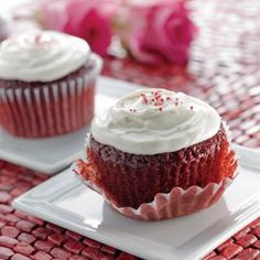 Red Velvet Cupidcakes Recipe | Key Ingredient