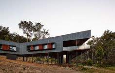 iredale pedersen hook architects complete the floating nannup house