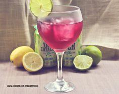 Pseudo cosmopolitan con VCH sabor lima-limón, bautizado como Freedom de Chocoa @Chocoas by Delgraphica
