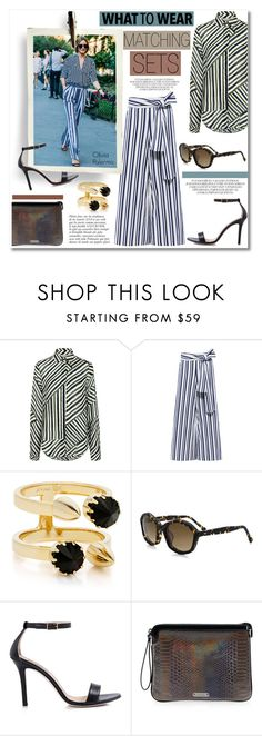 """""""What to Wear: Matching Sets!"""" by ifchic ❤ liked on Polyvore featuring Preen, Tanya Taylor, Joomi Lim, Dee Keller, Anja and Mohzy"""