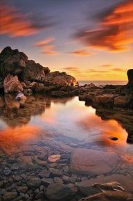 Sunset Pool, Greece