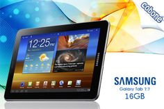 Have the Android operating system, dual-core 1.4 GHz and more in the 16 GB Samsung Galaxy tab 7.7 inch from iStore for EGP 3600 (Value EGP 4500) –Your handy Advancement!