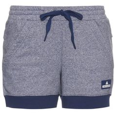 Adidas By Stella McCartney Performance knit shorts (250 BRL) ❤ liked on Polyvore featuring activewear, activewear shorts, shorts, navy multi, adidas, adidas activewear and adidas sportswear