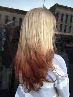 Blonde Hair with reverse ombre | d6f8e0d722d93706a86b3e24809cba01
