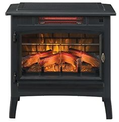 Amazon.com: Duraflame DFI-5010-01 Infrared Quartz Fireplace Stove with 3D Flame Effect, Black: Home & Kitchen