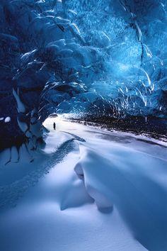"italian-luxury: ""Ice cave by Snorri Gunnarsson """