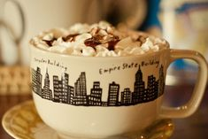 'Empire State Building' mug #coffee