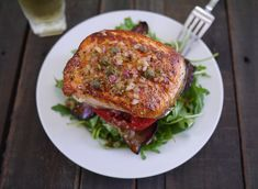 Salmon BLT Stacks | 23 Super Satisfying Low-Carb Dinners