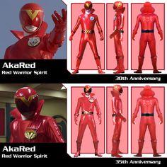 Aka Red from Boukenger Vs. Super Sentai and Gokaiger