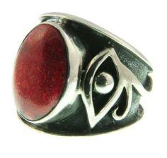 316 10 Evil Eye Ring Organic / Silver Jewelry of Bali BalineseOrganics. $60.00