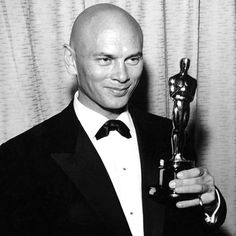 """Yul Brynner - Best Actor Oscar for """"The King and I""""  (1956)"""