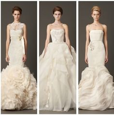 Vera Wang wedding gowns 2013