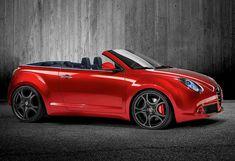 Alfa Romeo Mito all'aperto