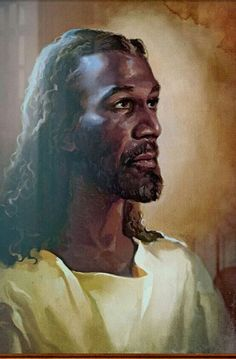 Jesus hair of wool My Jesus that the white man introduced to me during slavery!