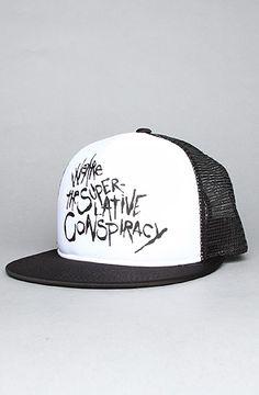 WeSC | WeSC On The Wall Trucker Hat (black)