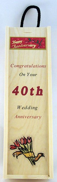... wedding anniversary, 40th wedding anniversary and Ruby wedding cake