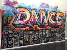 Street Art Dance Studio Mural