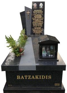 All polished granite monument created in very high quality Regal Black (Dark) and B G Black Indian Granite for the Batzakidis family and installed at the Greek Section of the Springvale Botanical cemetery. #Headstone #Headstones #Gravestones #Gravestone #Gravemarkers #Memorials #memorialsmonuments #headstonesmemorials #beautifulmemorials #cemeterymonuments #headstoneandbases #stonemasonsmelbourne #memorialheadstones #headstoneincription