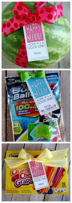 The best DIY projects & DIY ideas and tutorials: sewing, paper craft, DIY. Best Diy Crafts Ideas For Your Home Printable Happy Summer Gift Tags -Read Summer Gifts, Happy Summer, Summer Parties, Summer Fun, Summer Ideas, Teacher Appreciation Gifts, Teacher Gifts, Homemade Gifts, Diy Gifts