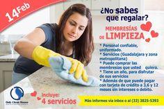 ¿Buscas que regalar?... Aquí tienes una opción!  #Limpieza #EmpleadasDomesticas #Regalos #14defebrero