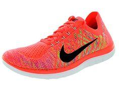 Nike Wmns Free 4.0 Flyknit Damenschuhe (717076-800) (38.5, Pink) - http://on-line-kaufen.de/nike/38-5-eu-nike-free-4-0-flyknit-damen-laufschuhe-10