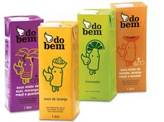Do bem | packaging | branding | natural juice | beverages | award | by Packaging Brands