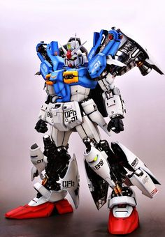 GUNDAM GUY: PG 1/60 RX-78 Gundam GP01/FB - Painted Build
