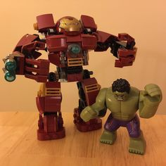 LEGO Hulk Buster. My birthday gift to myself. by arnellmischief