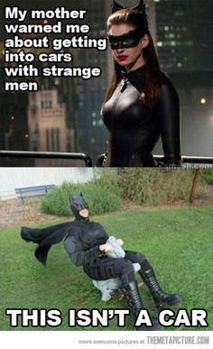 funny cat woman batman