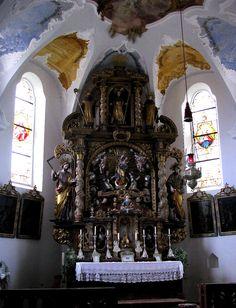 Landkirchen in Niederbayern - Eine Seite von Theodor Frey