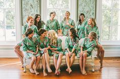 Bridesmaid Robes. Kimono. Bridesmaids Robes. by ModernKimonoRobes