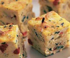 Tortilla de atún y verduras