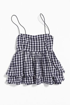 Urban Outfitters Olivia Tiered Ruffle Babydoll Top , - Urban Outfitters Olivia Tiered Ruffle Babydoll Top , Source by Maddie_Sovey - Girls Fashion Clothes, Teen Fashion Outfits, Look Fashion, Korean Fashion, Fashion Quiz, Fashion Black, 70s Fashion, Spring Fashion, Winter Fashion
