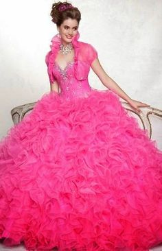 Cheap pink quinceanera dresses, Buy Quality quinceanera dresses 2015 directly from China sweet 16 dresses Suppliers: Beautiful Pink Quinceanera Dresses 2015 Ball Gowns Tulle Crystal Beaded Ruffles Vestidos De 15 Anos Sweet 16 Dresses Ball Gowns Prom, Ball Gown Dresses, 15 Dresses, Dress Prom, Formal Dress, Wedding Dresses, Bridal Gowns, Sweet 16 Dresses, Pretty Dresses