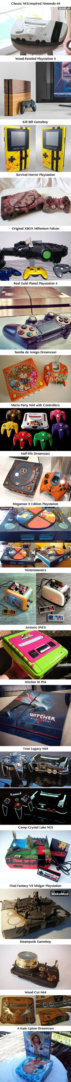 19 Most Goddamn Sexy Custom Consoles You've Ever Seen - 9GAG