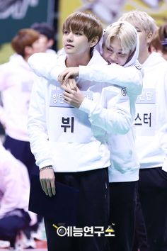 That moment when Naver is silently shipping VMin too >.> XD