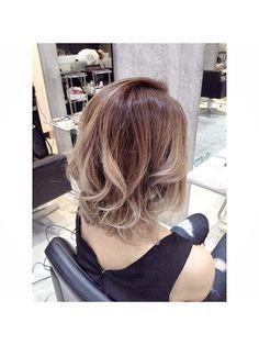 【ALIVE原宿】グラデーション&ハイライト - 24時間いつでもWEB予約OK!ヘアスタイル10万点以上掲載!お気に入りの髪型、人気のヘアスタイルを探すならKirei Style[キレイスタイル]で。