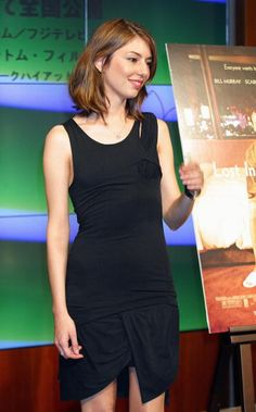 Sofia Coppola attends a press conference to promote her film 'Lost in Translation' March 10, 2004 Tokyo | Photo Junko Kimura/Getty.