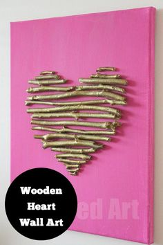 DIY - Wall Art #homedecor